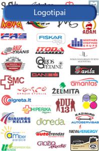 """Logotipai. Logotipo kurimas. Logotipų kūrimas. Logo kurimas. Logotipu kurimas. Logotipo kūrimas. Logo kūrimas. Logotipų kūrimas. Tai jūsų firminis stilius. Jis reikalingas, tiek internetinei parduotuvei, tiek rekaminei spaudai. Vizitinėms, bukletams, dovanų atributikai. Įmonės iškabai. Logotipas yra grafinis simbolis, sukurtas atskirai bendrovei ar produktui. Pagrindiniai gero logotipo bruožai yra išskirtinumas rinkoje bei lengvas atpažįstamumas. Logotipai dažnai susideda ir iš žodžių (arba inicialų), parašytų specialiu šriftu. Bendrovės sukurti logotipai dažnai naudojami įvairiuose kanaluose bei terpėse, antai parduotuvės vitrinose, vizitinėse kortelėse, ant raštinės reikmenų bei kitur. Logotipas, dažnai trumpinamas iki žodelio """"logo"""", yra grafinis simbolis, sukurtas atskirai bendrovei ar produktui. Pagrindiniai gero logotipo bruožas -išskirtinis ir lengvai atpažinamas. Logotipai dažnai susideda ir iš žodžių (arba inicialų), parašytų specialiu šriftu. Bendrovės sukurti logotipai dažnai naudojami įvairiuose kanaluose bei terpėse: parduotuvės užraše, vizitinėse kortelėse, bendrovės internetinėje svetainėje, įrangoje, ant raštinės reikmenų, rinkodaros medžiagoje, įpakavime, darbuotojų uniformose ir kitur. Tad logotipas turi būti gerai apgalvotas. Autentiškas ir patrauklus bendrovės ar produkto logotipas yra labai svarbi įvaizdžio dalis. Daugelis rinkodaros ekspertų tikina, jog nepatrauklūs bei savo stiliaus neturintys logotipai gali neigiamai paveikti verslą, ko pasekoje bendrovė turės mažesnius pardavimus bei rinkos dalį. Inovatyvios ir perspektyvios bendrovės investuoja didelius pinigus į logotipo, o taip pat ir prekės ženklo kūrimą. Jos supranta, kad logotipas yra tai, kaip tave supranta klientai, tiekėjai, partneriai ir net konkurentai. Logotipu išreiškiama bendrovės asmenybė ir jos misija. Logotipo kūrimo kriterijai. Siektinas įvaizdis. Tai, be abejonės, yra pats svarbiausias kriterijus kuriant logotipą. Smulkiajam verslui tai yra galimybė, kadangi, tikėtina, rib"""